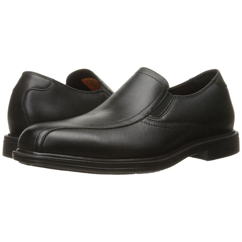 スケッチャーズ SKECHERS Work メンズ シューズ・靴 ローファー【Gretna】Black Leather