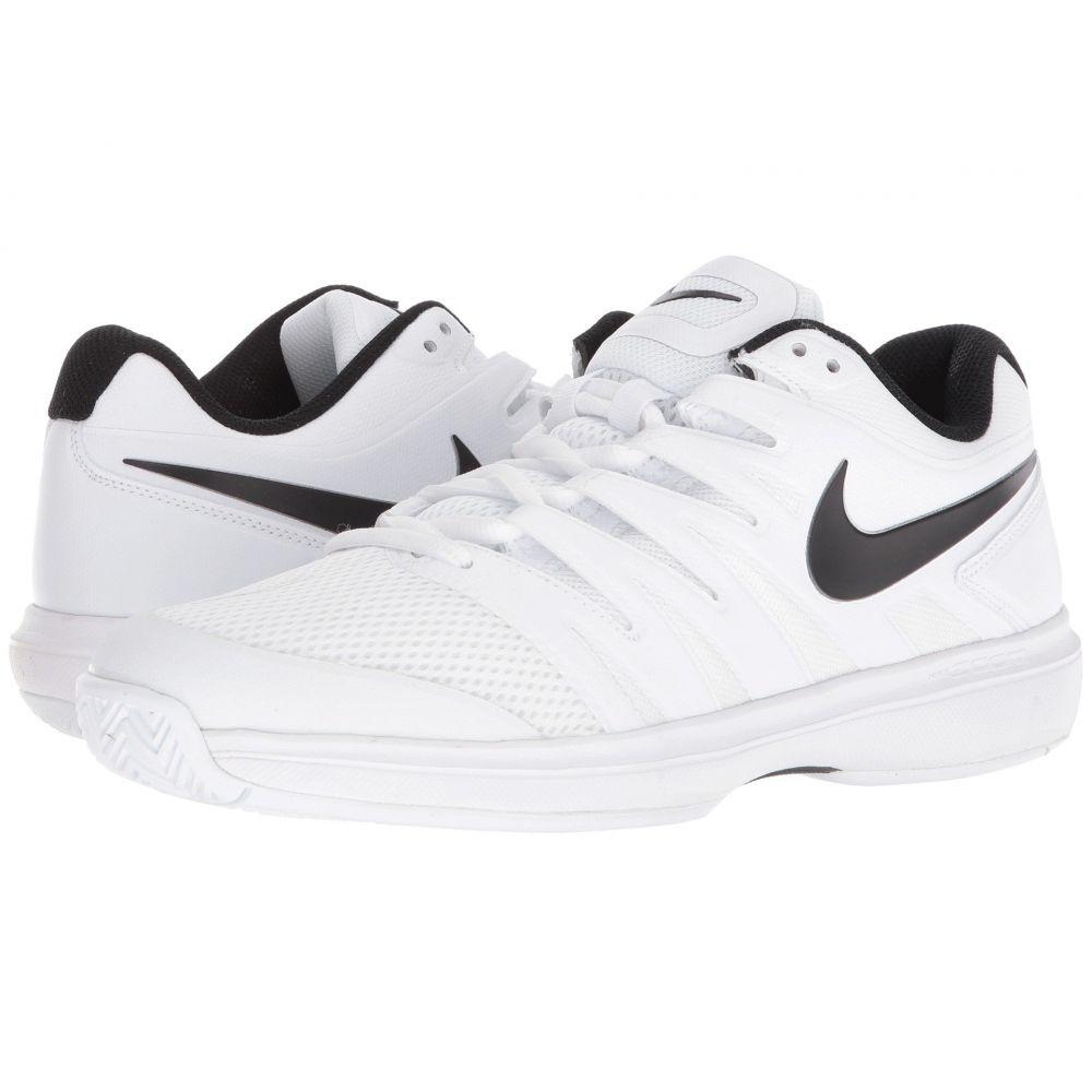 ナイキ Nike メンズ テニス シューズ・靴【Air Zoom Prestige】White/Black