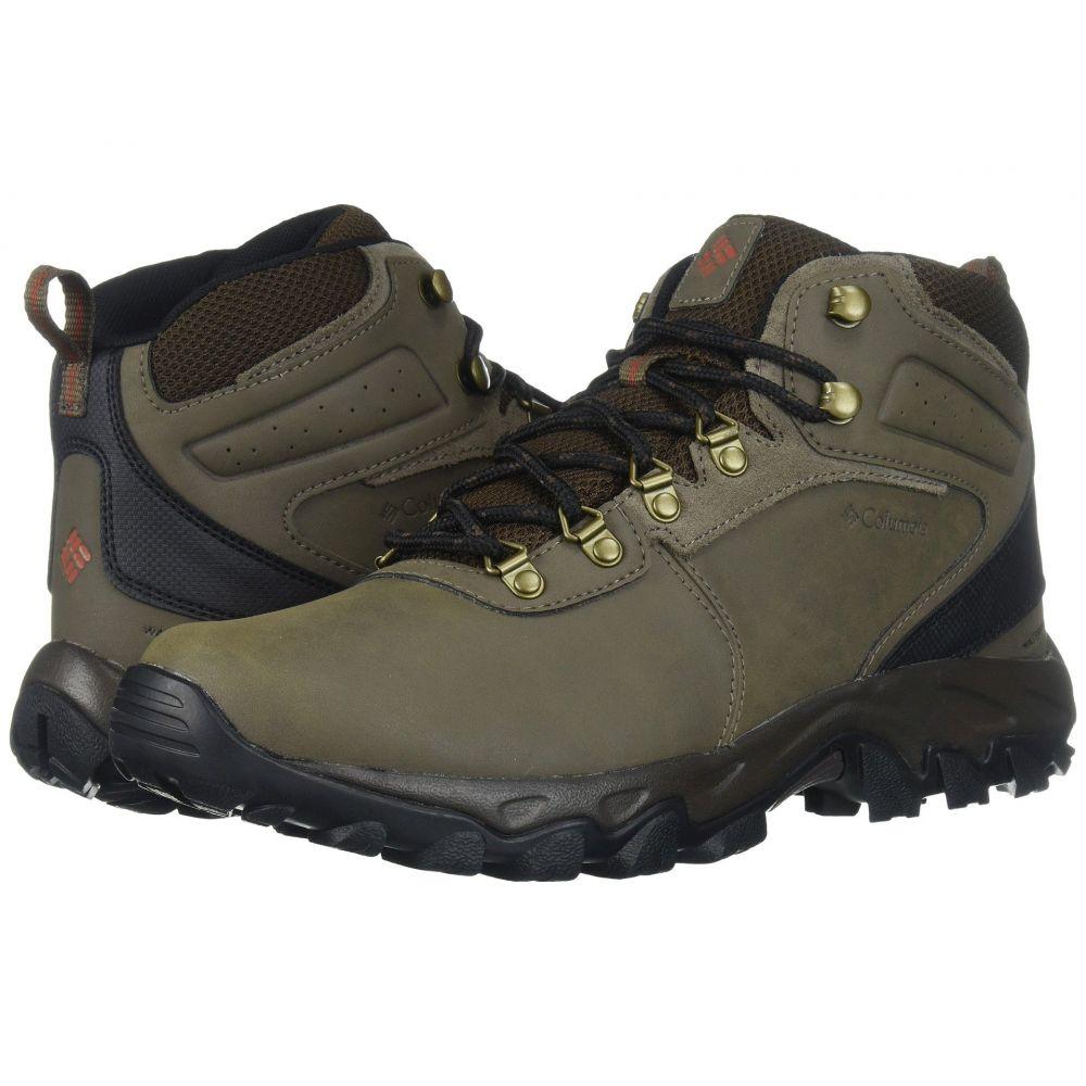 コロンビア Columbia メンズ ハイキング・登山 シューズ Ridge・靴【Newton II Ridge コロンビア Plus II Waterproof】Mud/Sanguine, 介護食品専門店ももとせ:e6cb2901 --- sunward.msk.ru