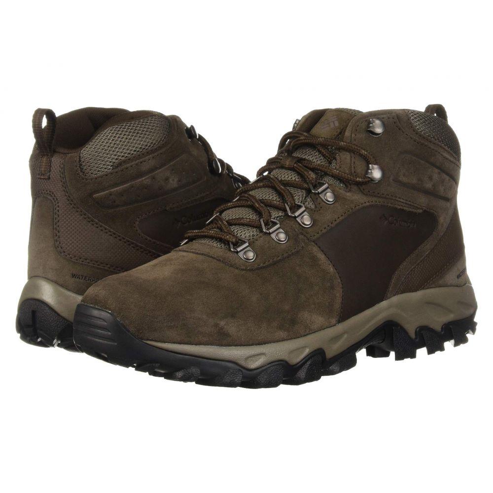 コロンビア Columbia メンズ ハイキング・登山 シューズ・靴【Newton Ridge Plus II Suede WP】Cordovan/Mud