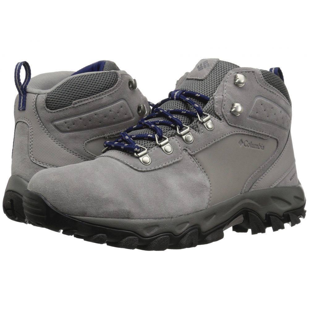 コロンビア Columbia メンズ ハイキング・登山 シューズ・靴【Newton Ridge Plus II Suede WP】TI Titanium/Coustea