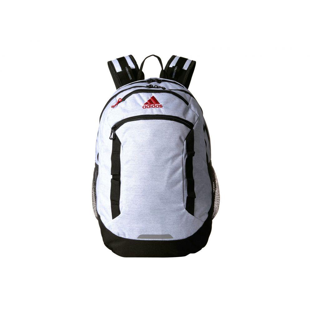 アディダス adidas メンズ バッグ バックパック・リュック【Excel IV Backpack】White Jersey/Black/Scarlet
