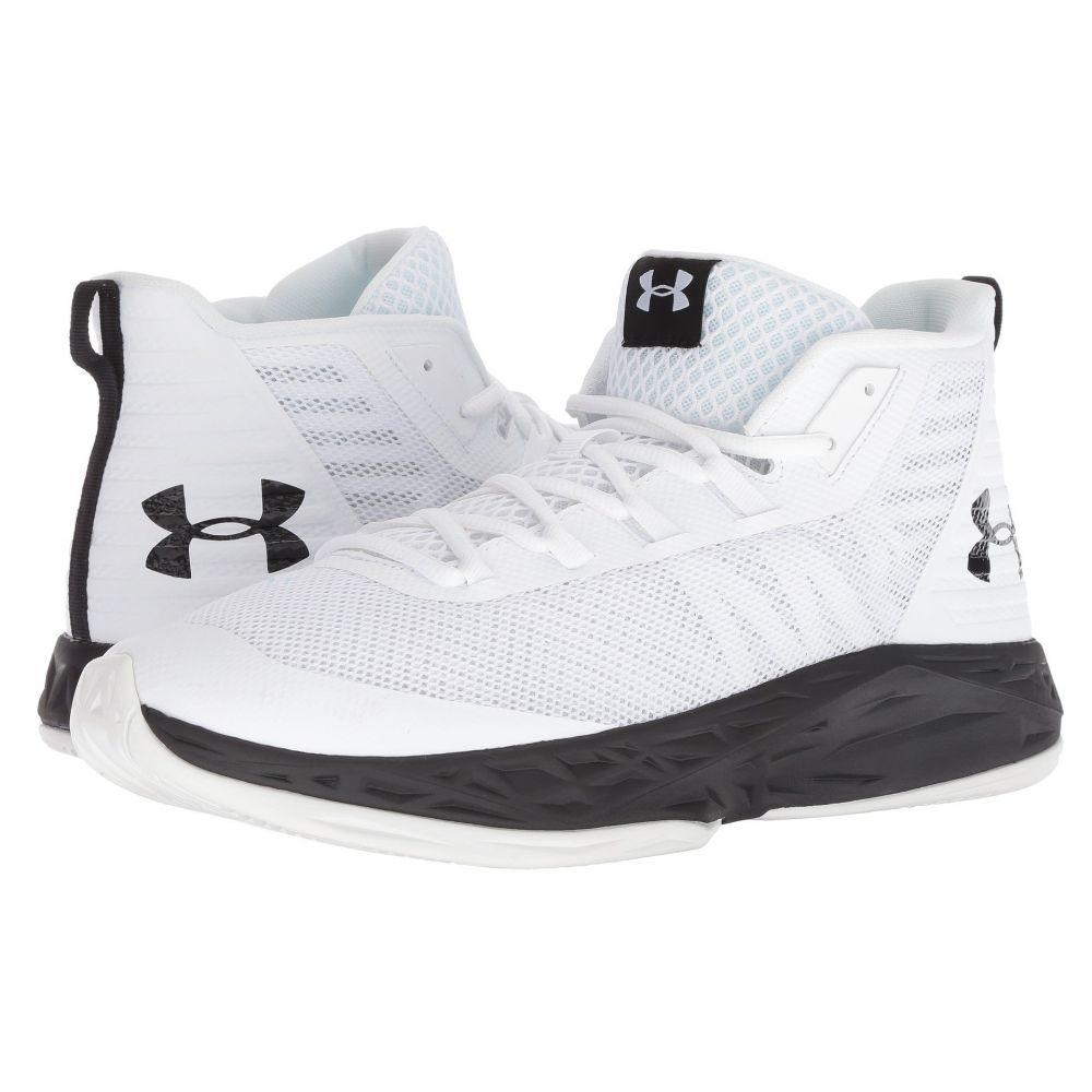 アンダーアーマー Under Armour メンズ バスケットボール シューズ・靴【UA Jet Mid】White/Black/Black