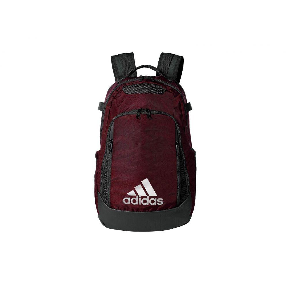 アディダス adidas メンズ バッグ バックパック・リュック【5-Star Team Backpack】Light Maroon
