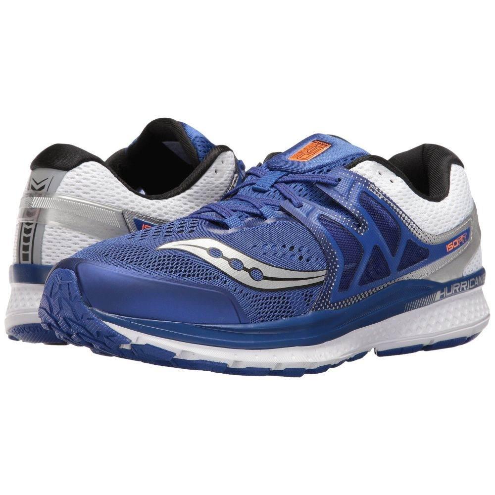 サッカニー Saucony メンズ ランニング・ウォーキング シューズ・靴【Hurricane ISO 3】Blue/White/Silver