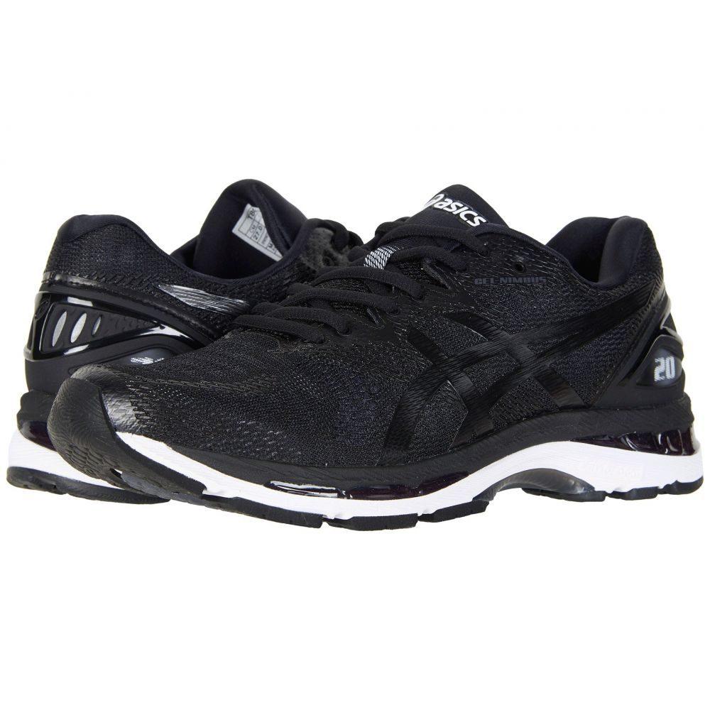 アシックス ASICS メンズ ランニング・ウォーキング シューズ・靴【GEL-Nimbus 20】Black/White/Carbon