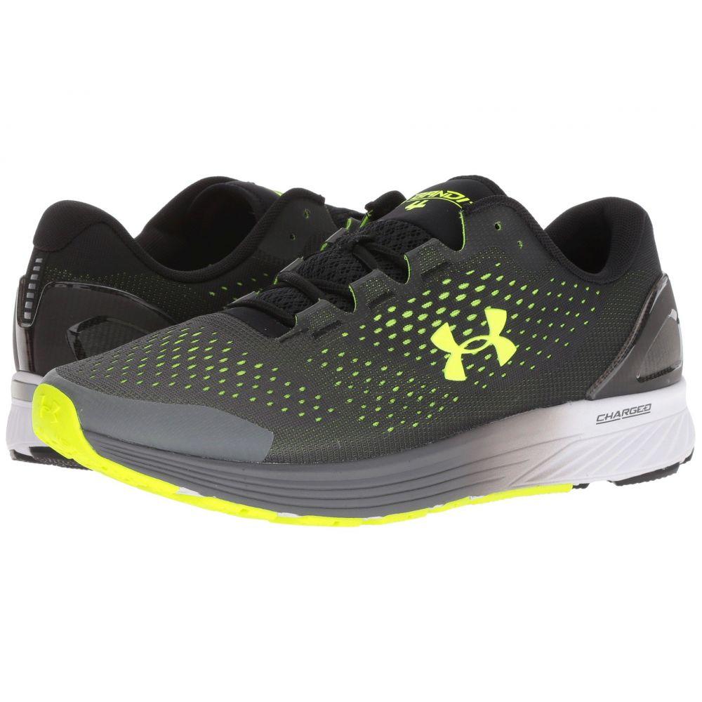 アンダーアーマー Under Armour メンズ ランニング・ウォーキング シューズ・靴【UA Charged Bandit 4】Black/Graphite/High-Vis Yellow