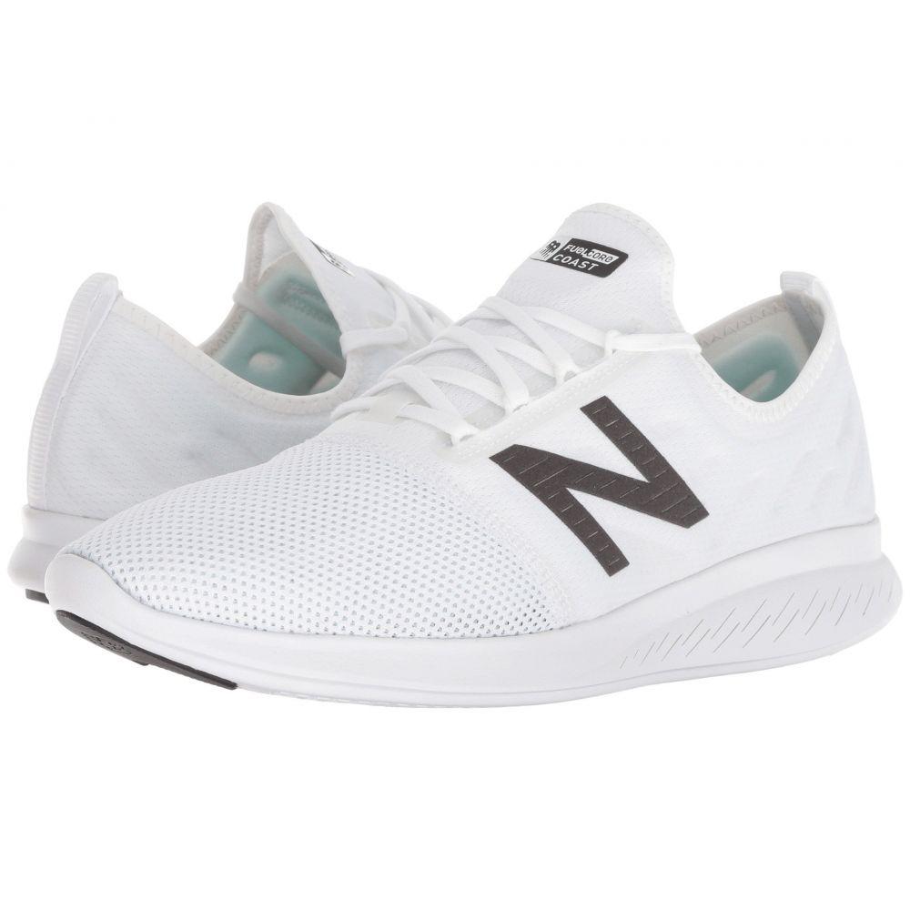 ニューバランス New Balance メンズ ランニング・ウォーキング シューズ・靴【Coast v4】White/Black