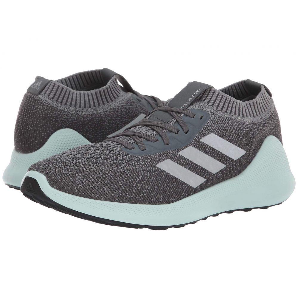 アディダス adidas Running メンズ ランニング・ウォーキング シューズ・靴【pureBounce+】Grey Three/Silver Metallic/Ash Green