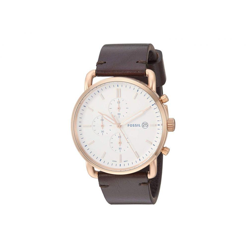 フォッシル Fossil メンズ 腕時計【The Commuter Chrono - FS5476】Brown