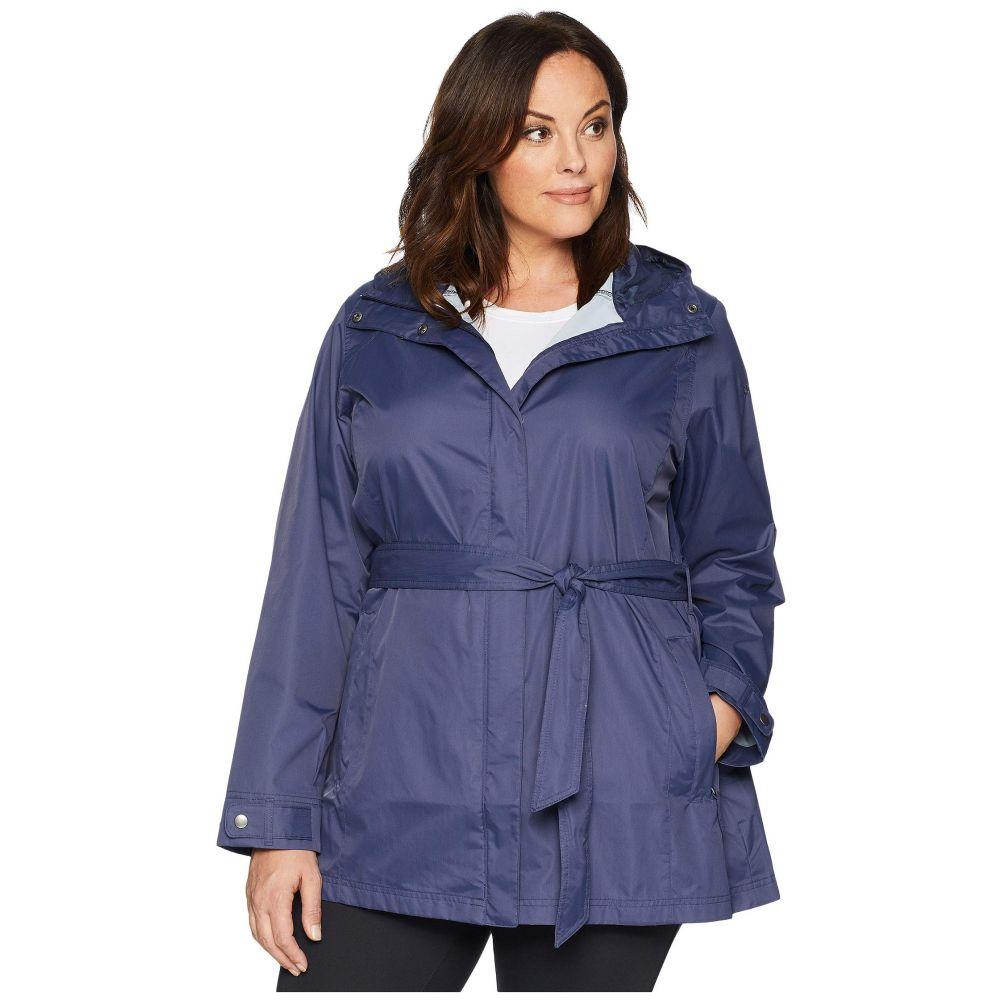コロンビア Columbia レディース アウター レインコート【Plus Size Pardon My Trench Rain Jacket】Nocturnal