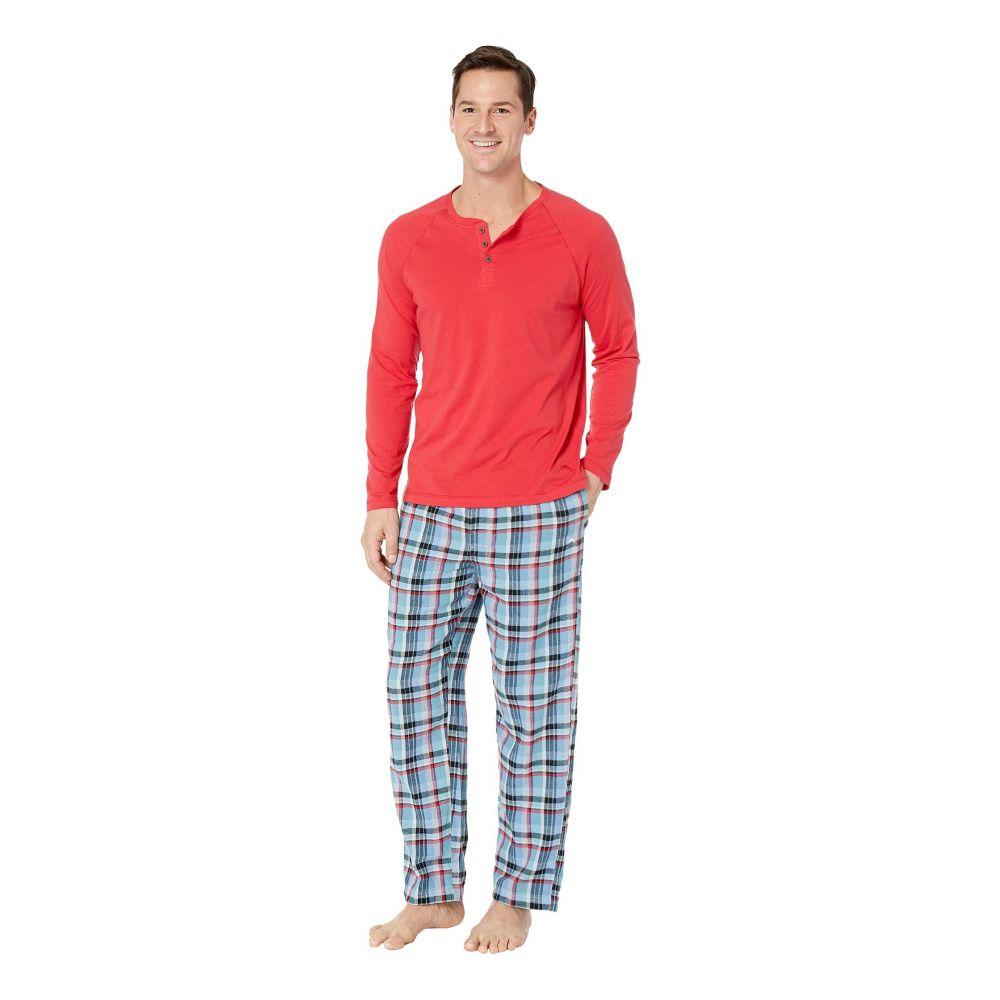 トミー バハマ Tommy Bahama メンズ インナー・下着 パジャマ・上下セット【Pajama Set】Winter Plaid