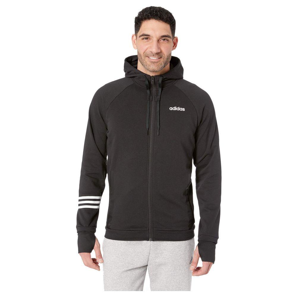 アディダス adidas メンズ アウター ジャージ【Essentials Motion Pack Full-Zip Track Jacket】Black