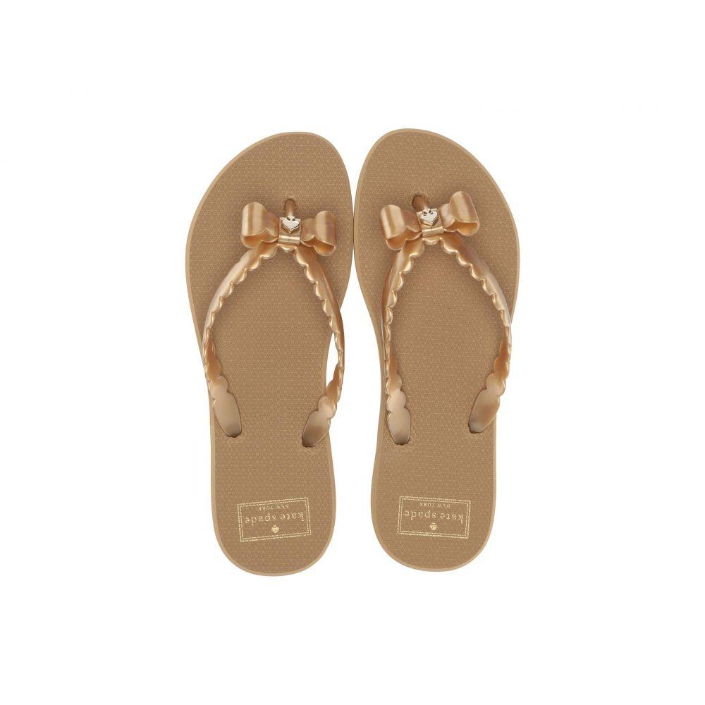 ケイト スペード Kate Spade New York レディース シューズ・靴 ビーチサンダル【Denise】Gold