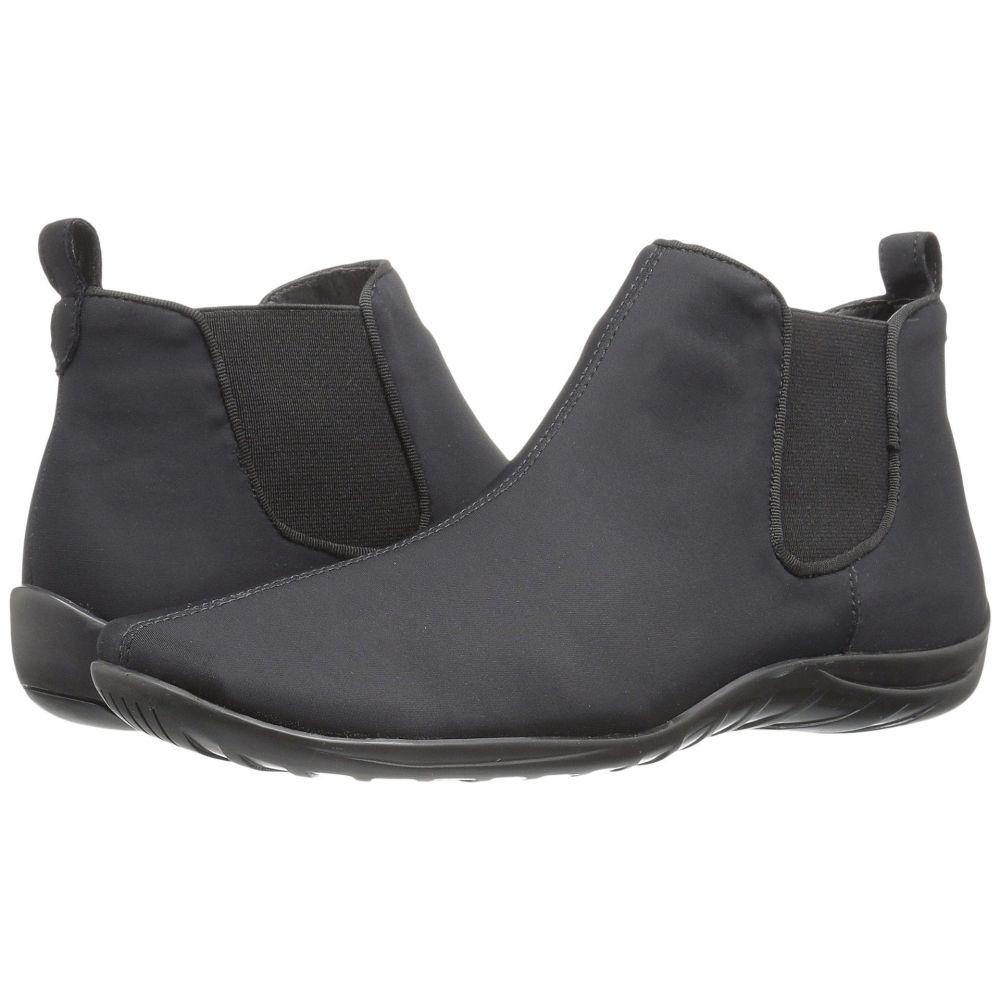 ウォーキング クレードル Walking Cradles レディース シューズ・靴 ブーツ【Ante】Black Stretch Fabric