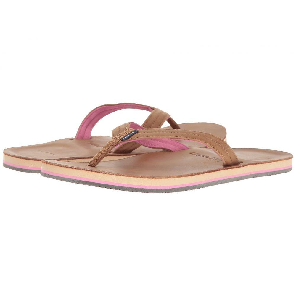 ハリマリ hari mari レディース シューズ・靴 ビーチサンダル【Lakes】Tan/Pink