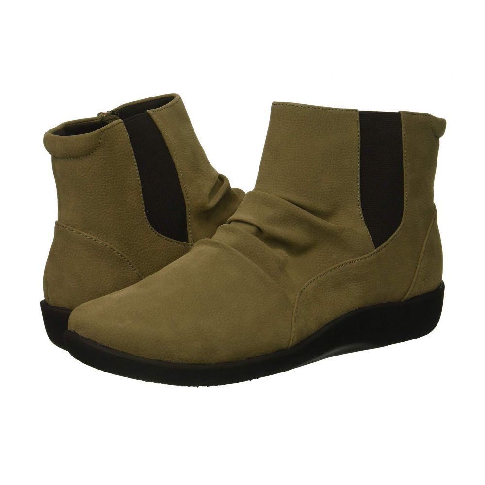 レディース Synthetic Rima】Sage ブーツ【Sillian シューズ・靴 Clarks クラークス