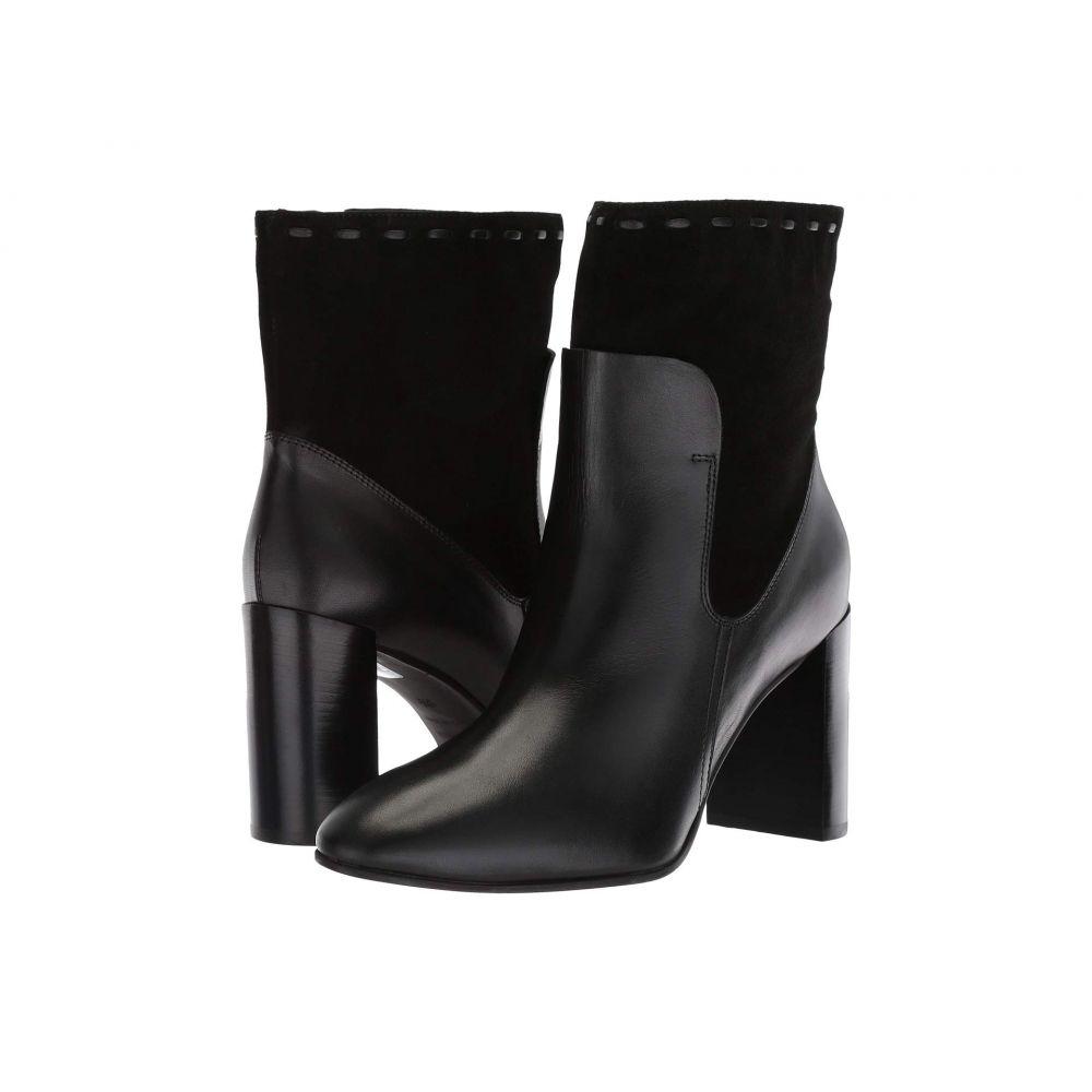 アクアタリア Aquatalia レディース シューズ・靴 ブーツ【Fineena】Black Calf/Suede