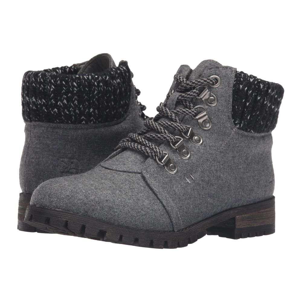 ダーティーランドリー Dirty Laundry レディース シューズ・靴 ブーツ【Treble】Dark Grey Flannel