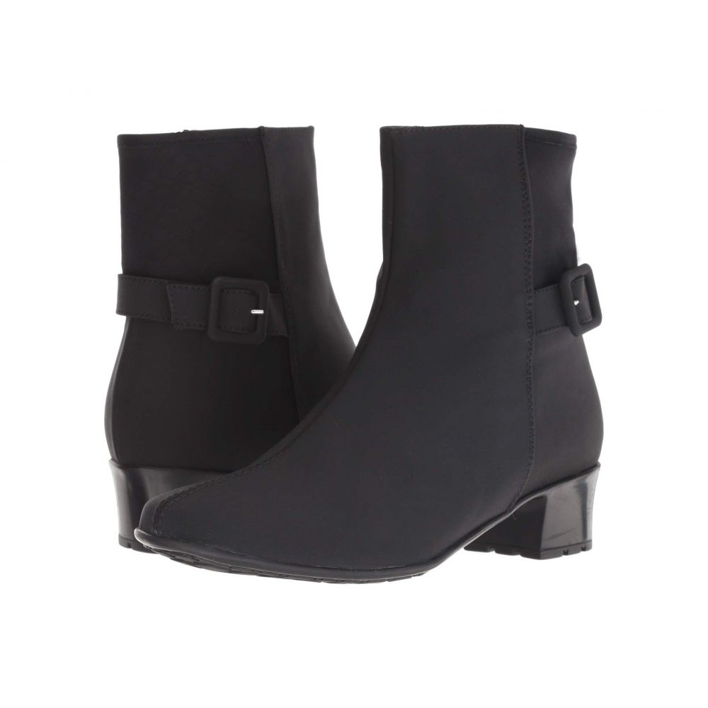セスト メウッチ Sesto Meucci レディース シューズ・靴 ブーツ【Ylva】Black Micro Fabric/Black Coles Stretch