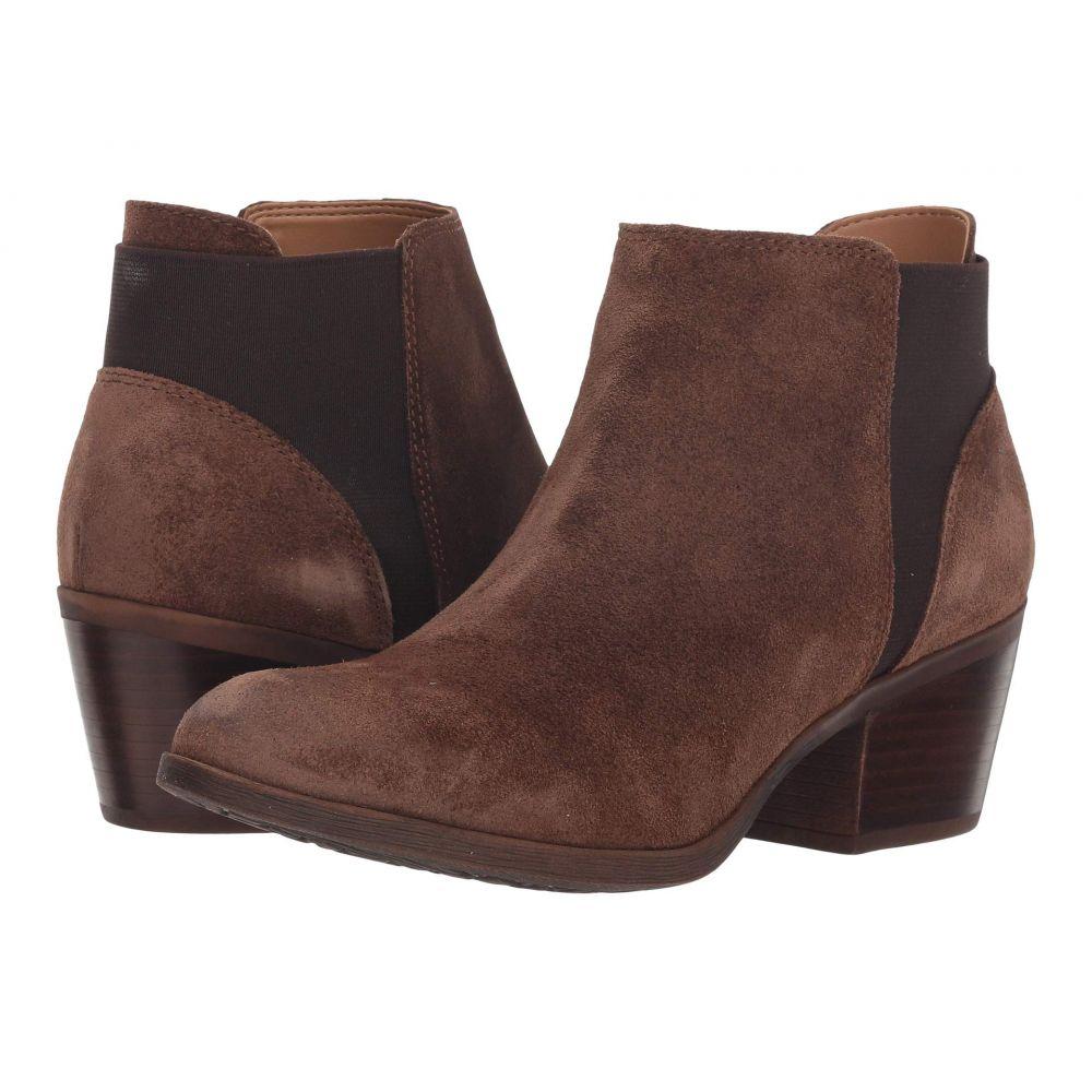 コンフォーティヴァ Comfortiva レディース シューズ・靴 ブーツ【Kendra】Earth Brown Oiled Cow Suede