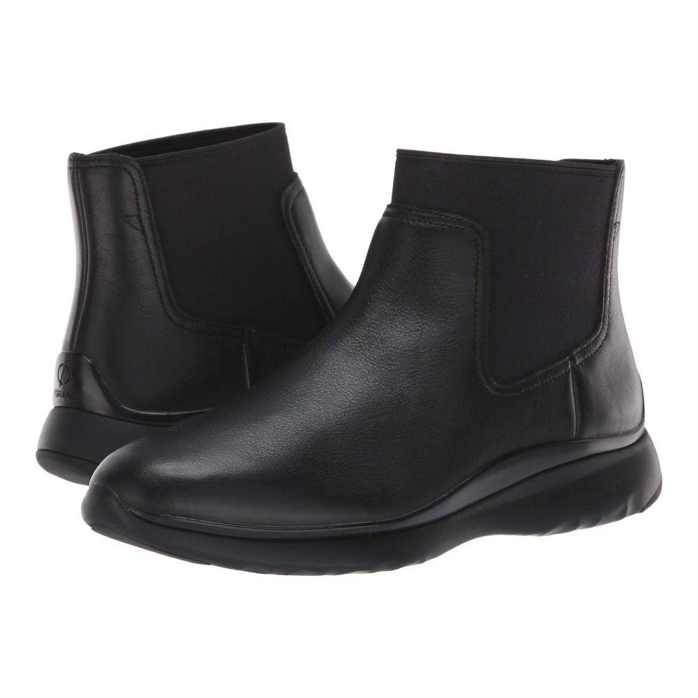 コールハーン Cole Haan レディース シューズ・靴 ブーツ【3.Zerogrand Chelsea Waterproof Bootie】Black Leather