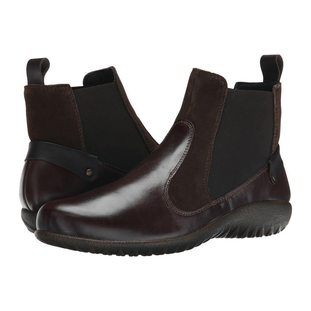 ナオト Naot レディース シューズ・靴 ブーツ【Konini】Walnut Leather/Hash Suede/French Roast Leather
