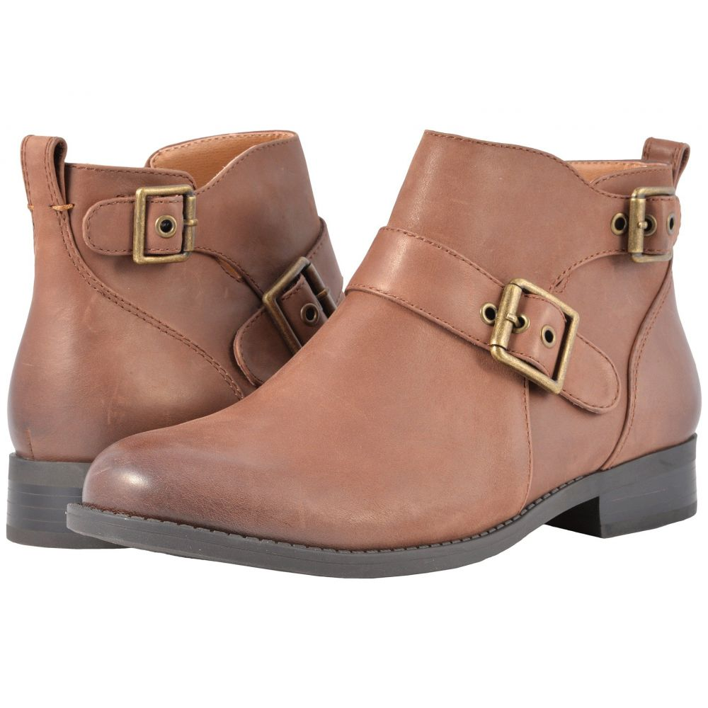 バイオニック VIONIC レディース シューズ・靴 ブーツ【Country Logan Ankle Boots】Dark Brown