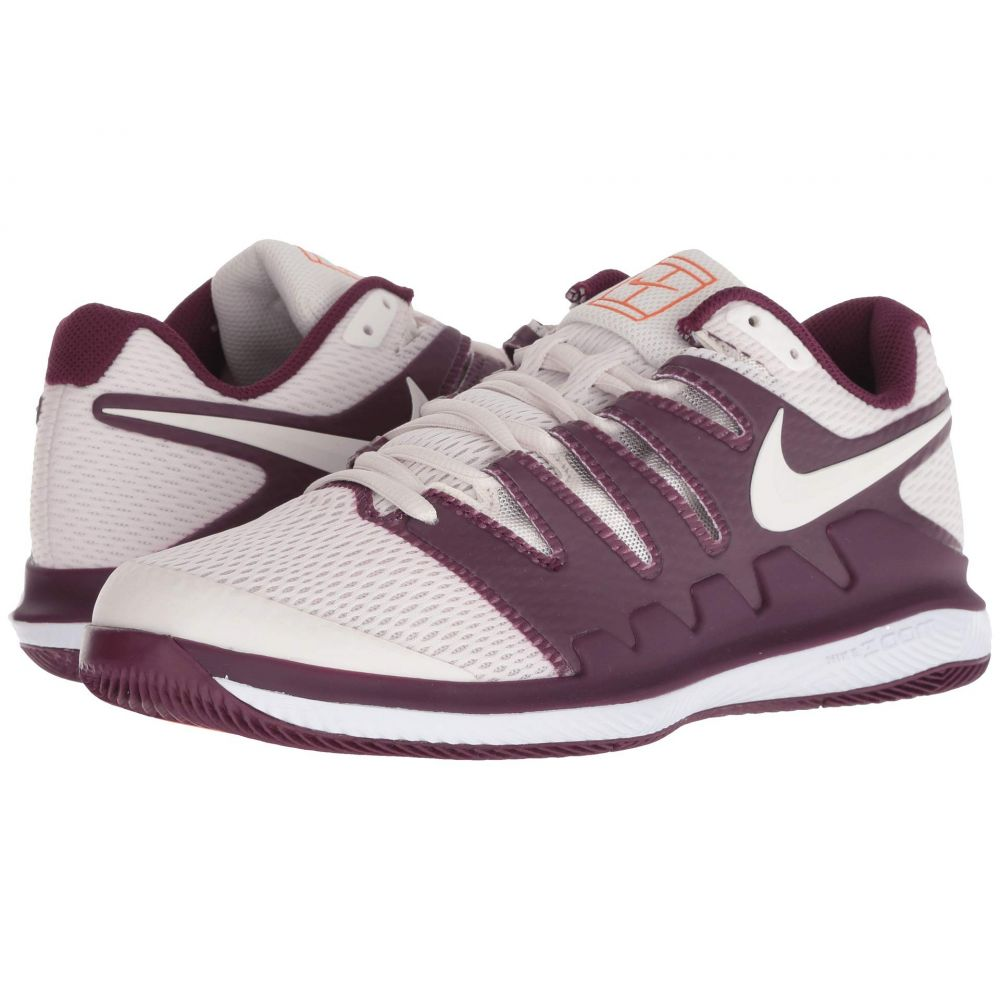 ナイキ Nike レディース テニス シューズ・靴【Air Zoom Vapor X】Bordeaux/Phantom/White/Orange Blaze