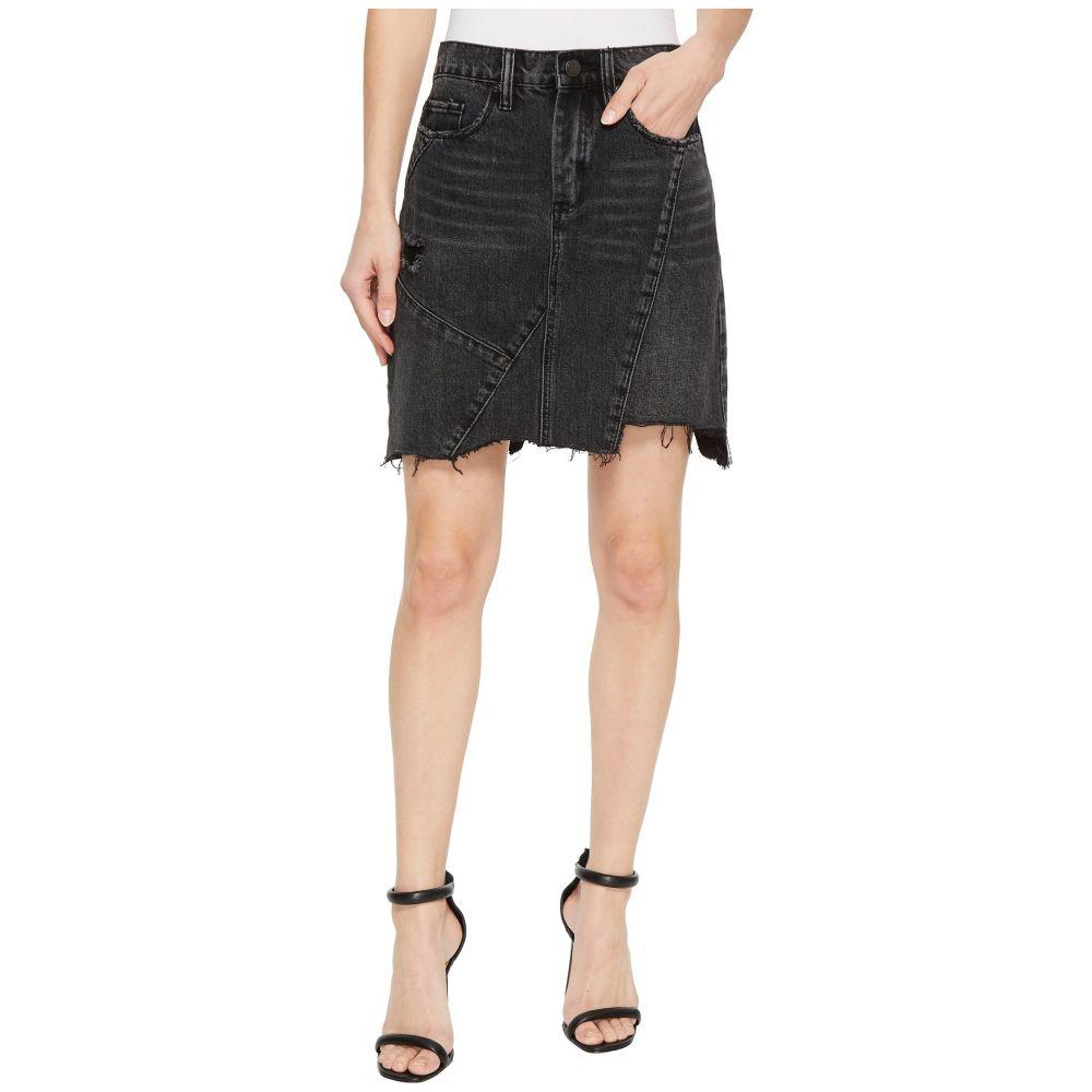 ブランクニューヨーク Blank NYC レディース スカート ミニスカート【High-Rise Asymmetric Mini Skirt in Black Ice】Black Ice