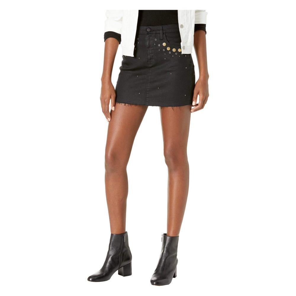 ハドソン Hudson レディース スカート ミニスカート【The Viper Mini Skirt with Grommett Detail in Nocturnal】Nocturnal