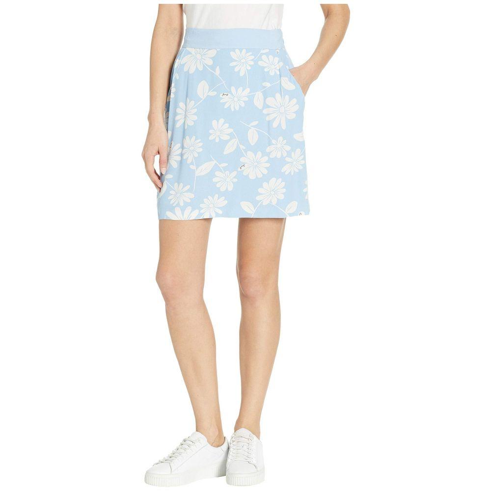 ジューシークチュール Juicy Couture レディース スカート【Sketched Daisy Skirt】Blue Chill Sketched