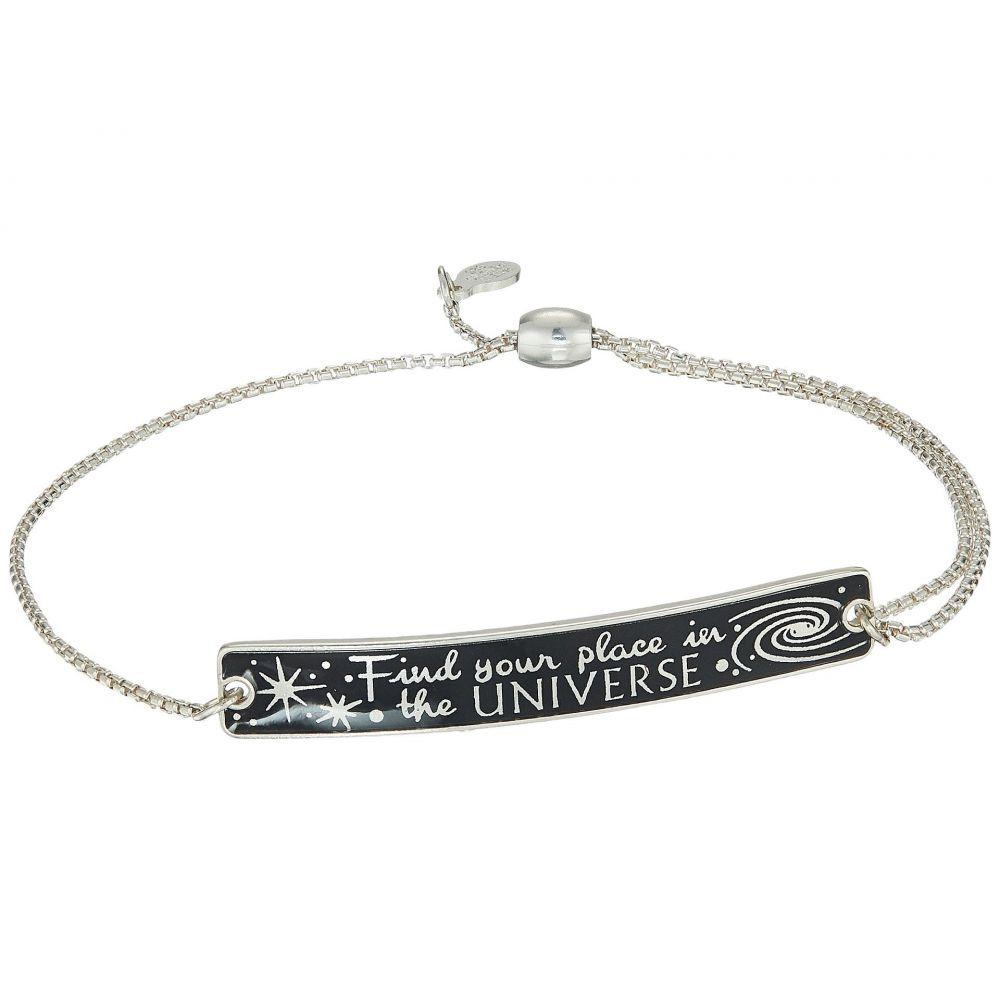 アレックス アンド アニ Alex and Ani レディース ジュエリー・アクセサリー ブレスレット【Wrinkle In Time - Find Your Place in the Universe Pull Chain Bracelet】Sterling Silver