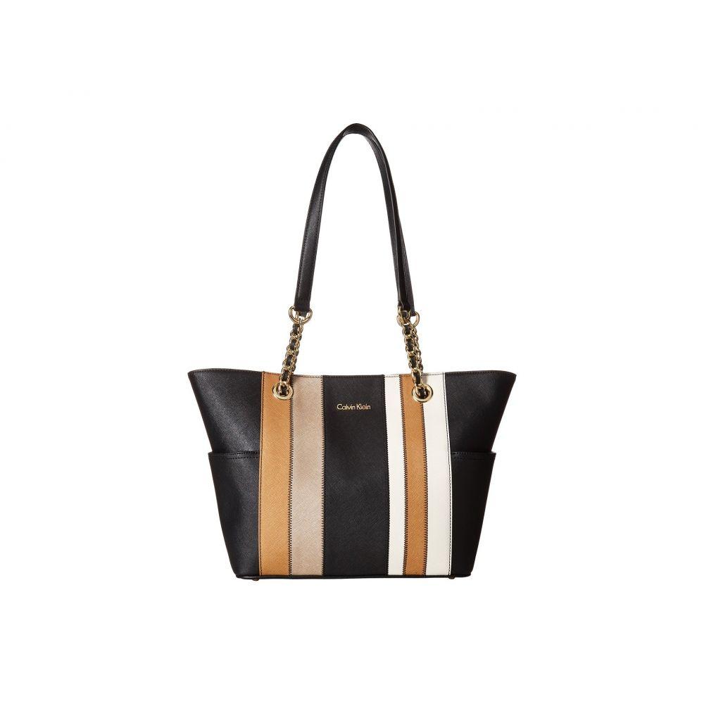 カルバンクライン Calvin Klein レディース バッグ トートバッグ【Key Item Saffiano Leather Tote】Metallic Combo 1