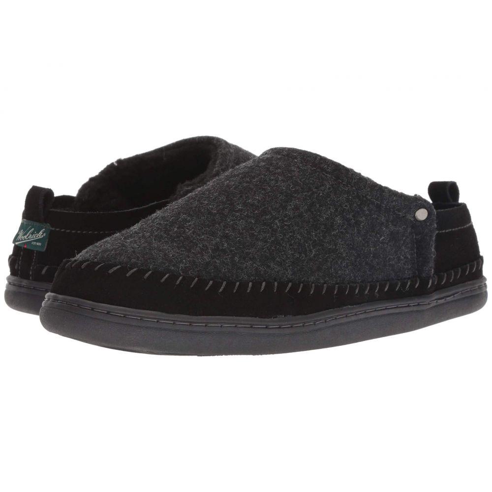 ウールリッチ Woolrich メンズ シューズ・靴 スリッパ【Bear Lake】Black