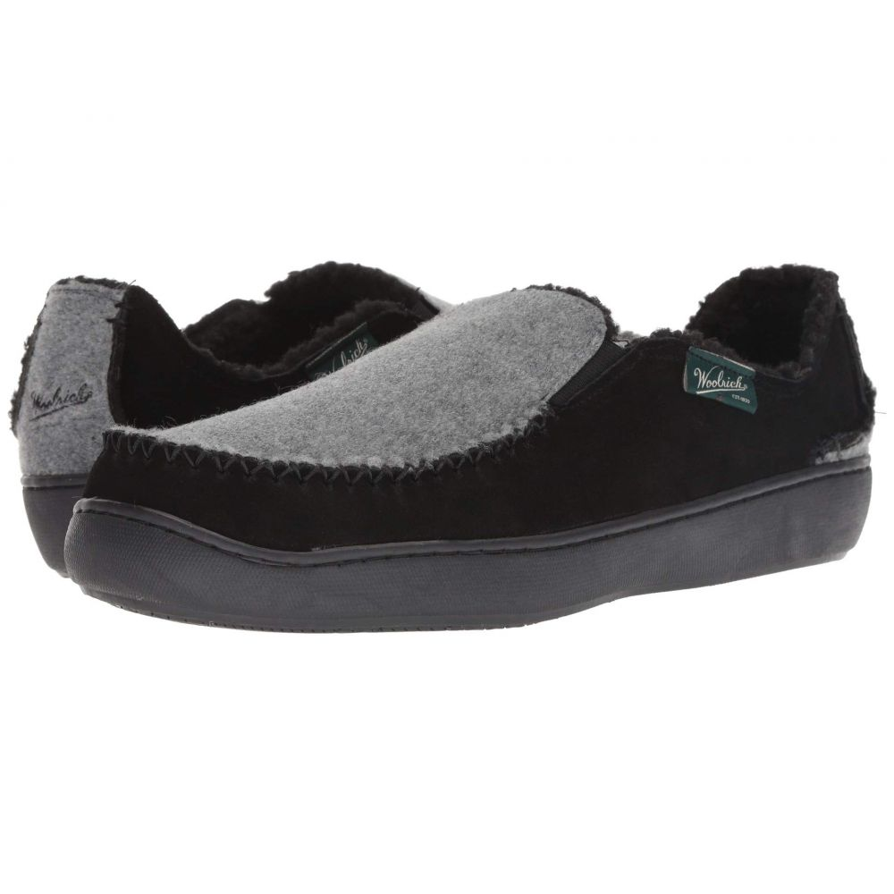 ウールリッチ Woolrich メンズ シューズ・靴 スリッパ【Boardwalk】Black/Ash