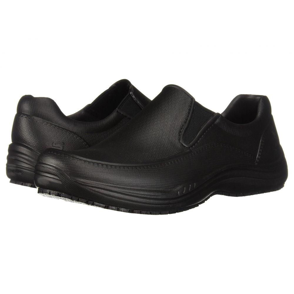 スケッチャーズ SKECHERS Work メンズ シューズ・靴【Brushten SR】Black