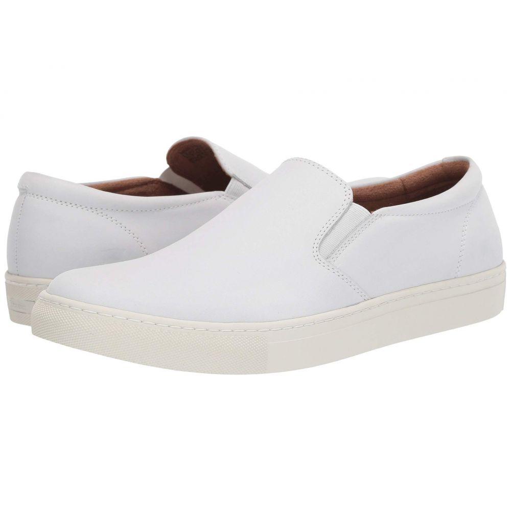フローシャイム Florsheim メンズ シューズ・靴 スリッポン・フラット【Verge Gore Slip-On】White