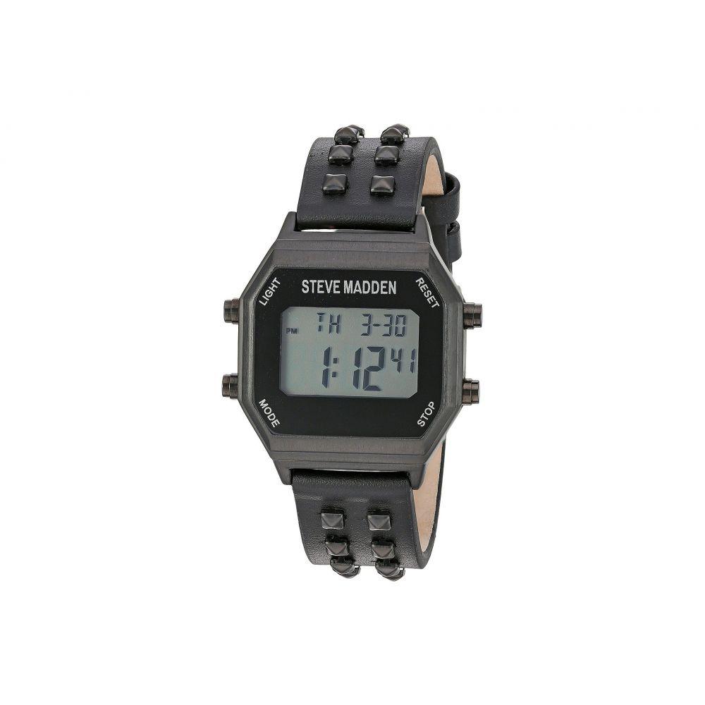 スティーブ マデン Steve Madden レディース 腕時計【SMW012】Black