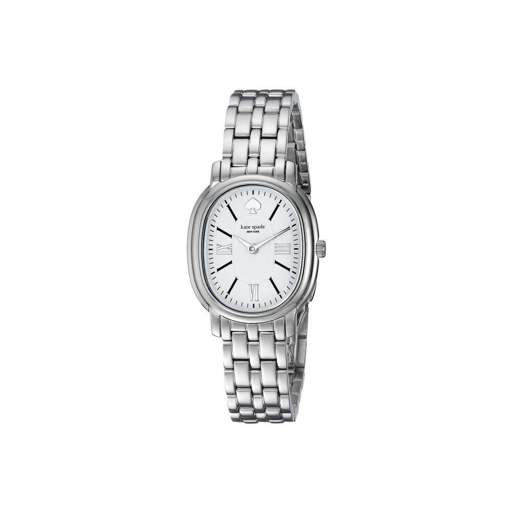 ケイト スペード Kate Spade New York レディース 腕時計【Staten - KSW1431】Silver