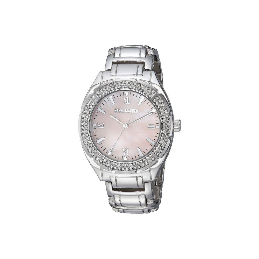 スティーブ マデン Steve Madden レディース 腕時計【SMW099LP】Silver