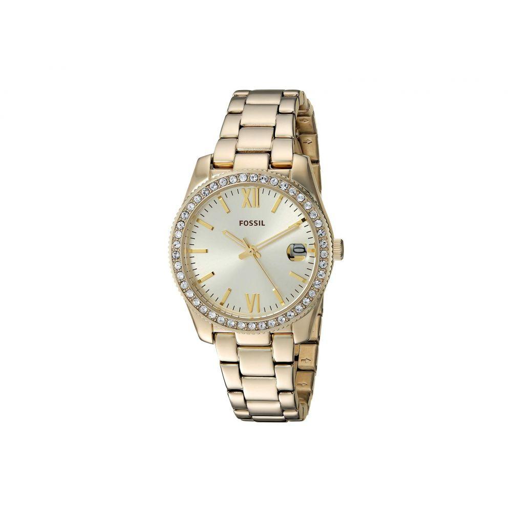 フォッシル Fossil レディース 腕時計【Scarlette - ES4374】Gold