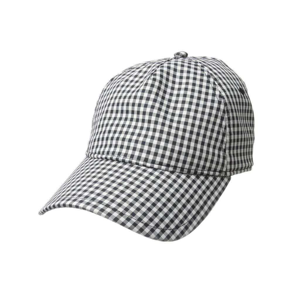 ラグ&ボーン rag & bone レディース 帽子 キャップ【Marilyn Baseball Cap】Navy Gingham