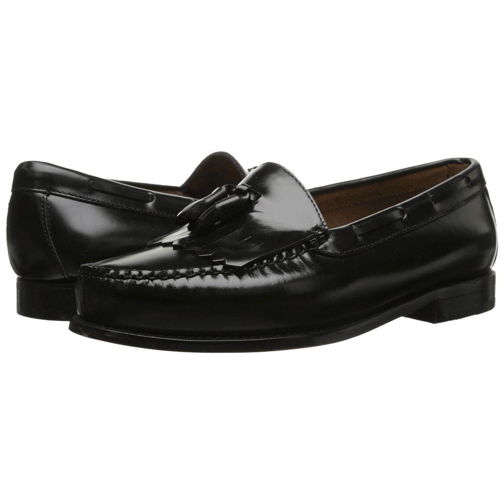 ジーエイチ バス G.H. Bass & Co. メンズ シューズ・靴 ローファー【Layton Kiltie Tassel】Black Box Leather