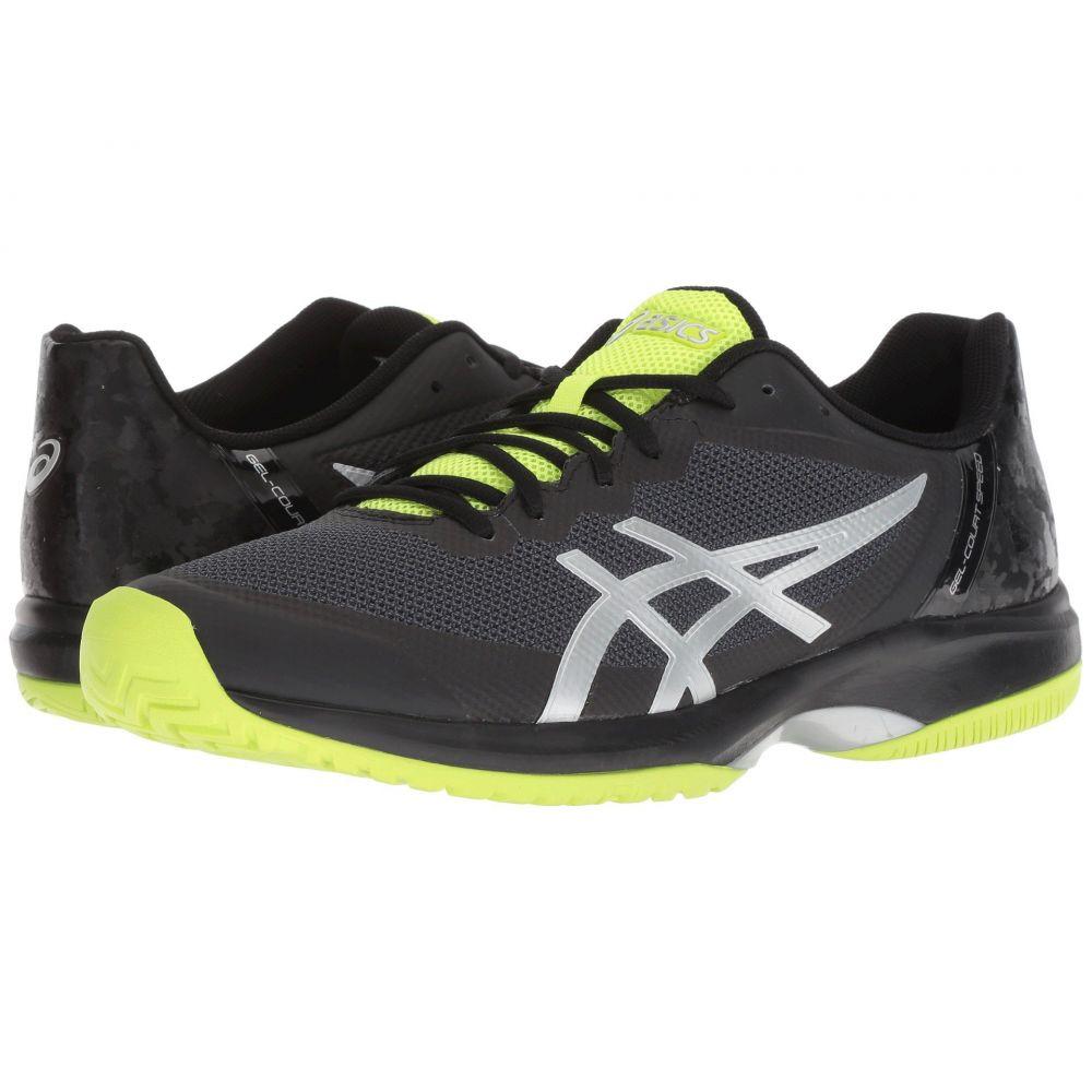 アシックス ASICS メンズ テニス シューズ・靴【Gel-Court Speed】Black/Flash Yellow