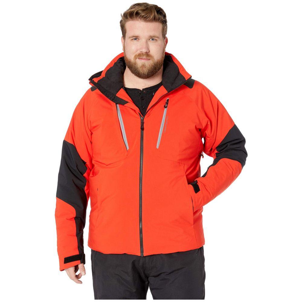 オバマイヤー Obermeyer メンズ スキー・スノーボード アウター【Big and Tall Foundation Jacket】Red