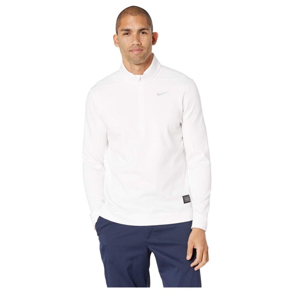 ナイキ Nike Golf メンズ トップス【Therma Repel 1/2 Zip Top】White/Flat Silver