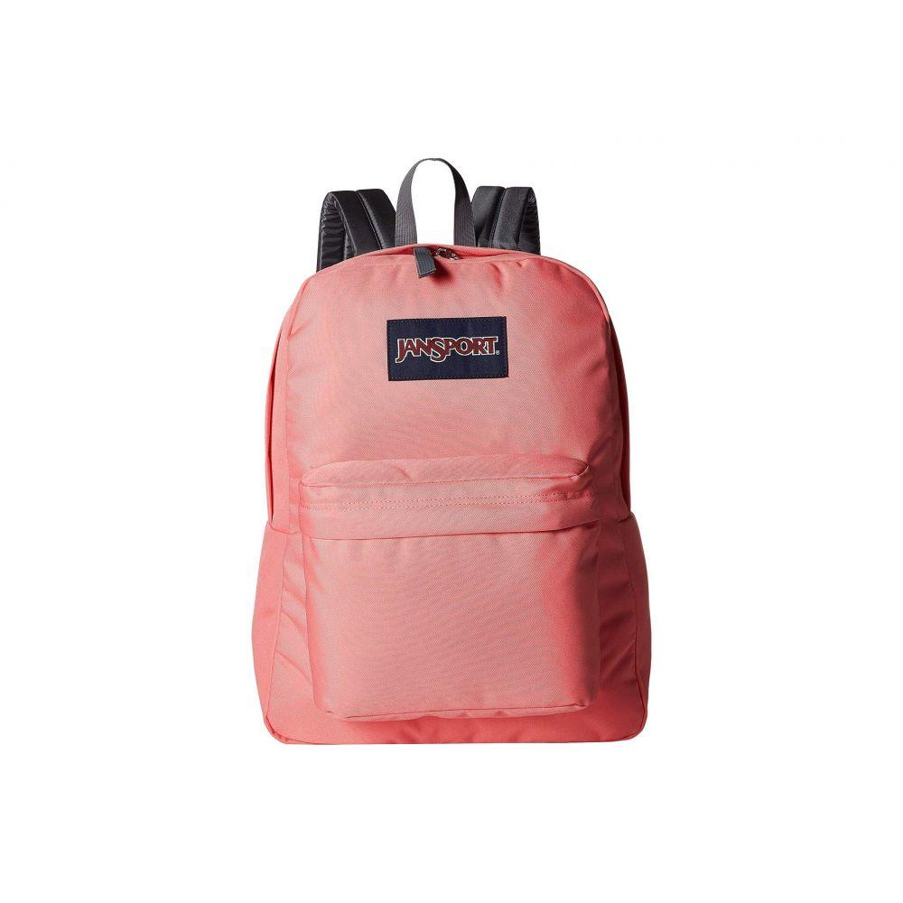 ジャンスポーツ JanSport メンズ バッグ バックパック・リュック【SuperBreak】Strawberry Pink