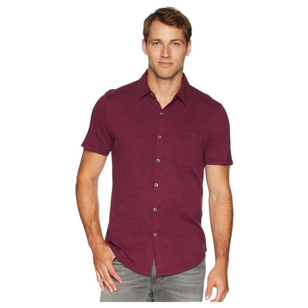 モドオードック Mod-o-doc メンズ トップス 半袖シャツ【Montana Short Sleeve Button Front Shirt】Mulberry