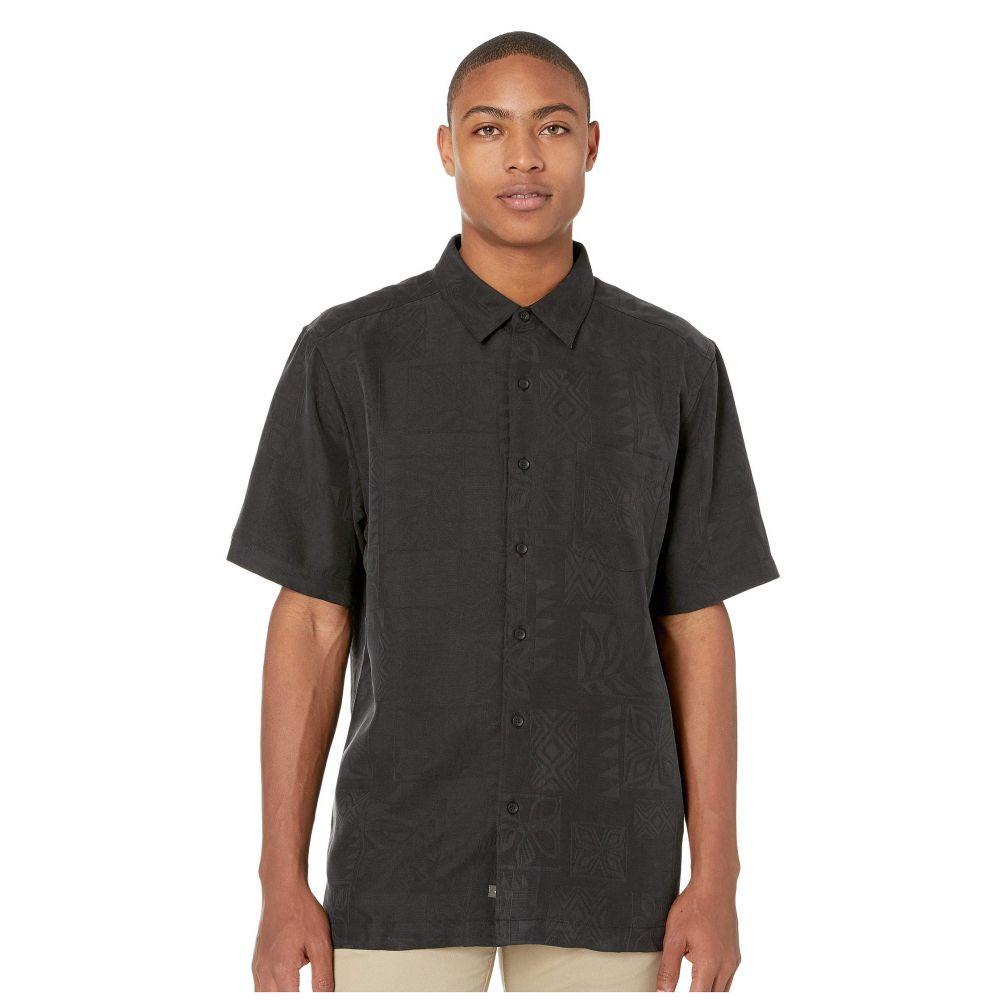 クイックシルバー Quiksilver Waterman メンズ トップス 半袖シャツ【Malama Bay Short Sleeve Shirt】Black